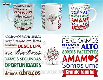 Caneca - Grande Familia