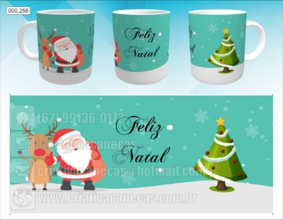 Caneca - Natal