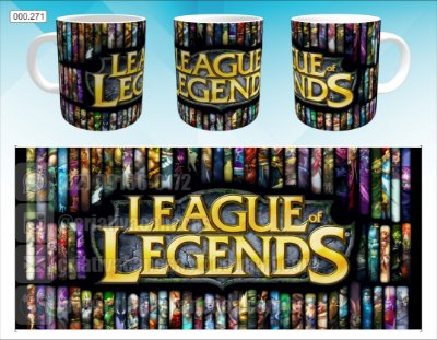 Caneca - League of Legends
