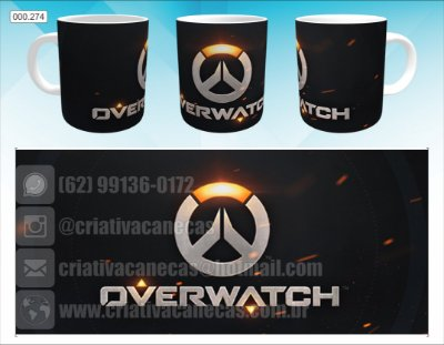 Caneca - Overwatch