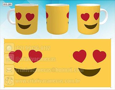 Caneca - Emoji apaixonado