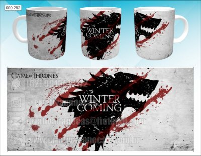 Caneca - Game of Thrones - Winter