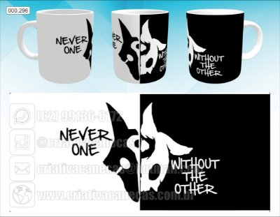 Caneca - League of Legends - Never One