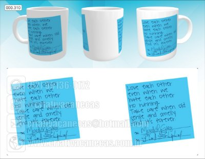 Caneca - Grey's Anatomy Post It