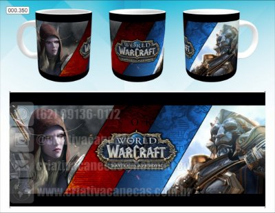 Caneca - Warcraft - Battle for Azeroth