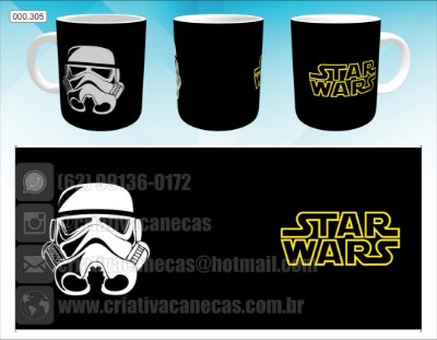 Caneca - Star Wars - Stormtrooper