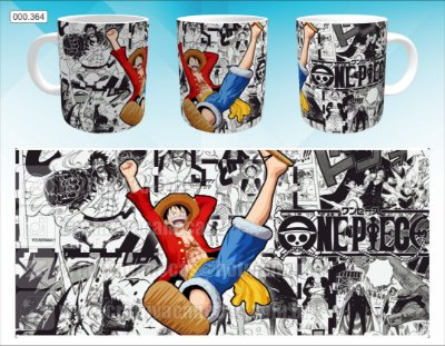 Caneca - One Piece - Luffy, Mangá