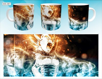 Caneca - Dragon Ball - Vegeta