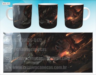 Caneca - League of Legends - Yasou, Darkness