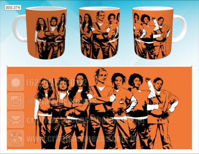 Caneca - Orange Is the New Black