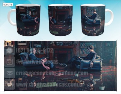 Caneca - Sherlock and Dr.