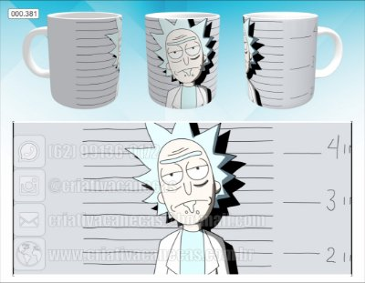 Caneca - Rick and Morty - Rick