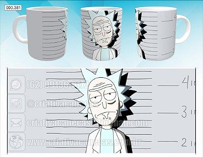 Caneca - Rick and Morty - Rick