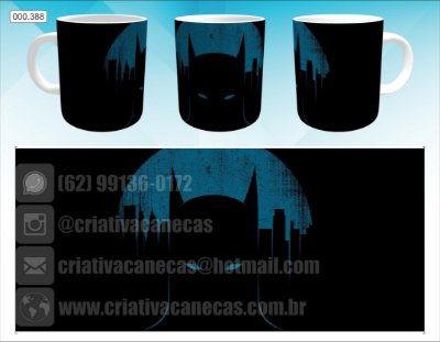Caneca - Batman Minimalist