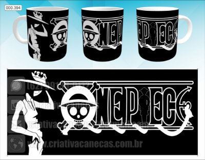 Caneca - One Piece - Luffy