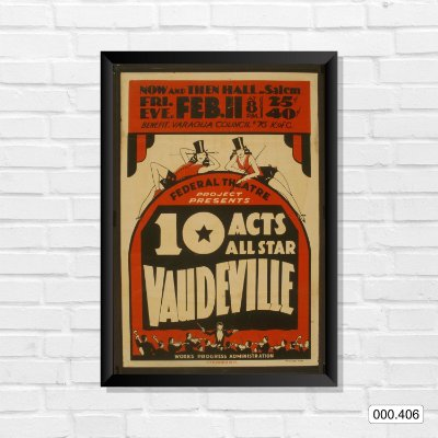 Quadro - 10 Acts All Star Vaudeville