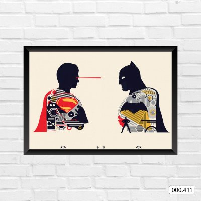 Quadro - Batman & Superman