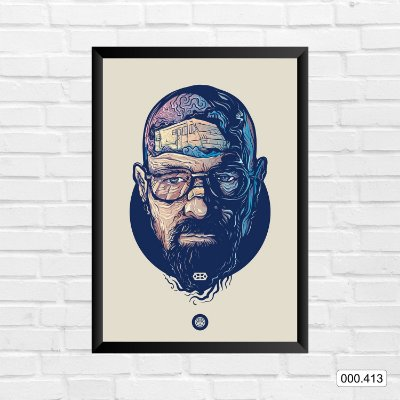 Quadro - Breaking Bad - Walter White