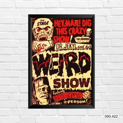 Quadro - Dr. Jekyl and His Weird Show, Ft Frankenstein