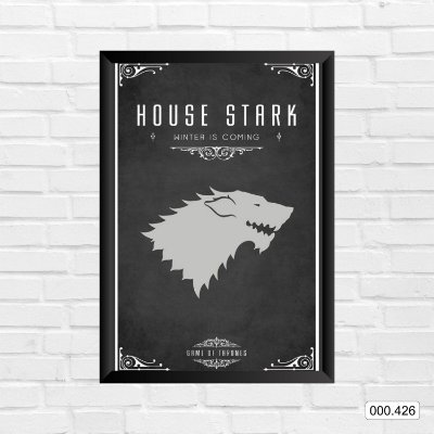 Quadro - Game Of Thrones - House Stark