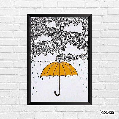 Quadro - Guarda-chuva