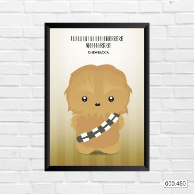 Quadro - Star Wars - Chewbacca