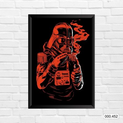 Quadro - Star Wars - Darth Vader, color