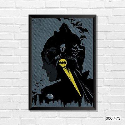 Quadro - Batman & Mulher-Gato