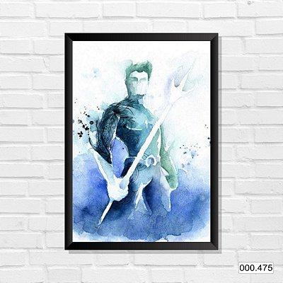 Quadro - Aquaman, Arte