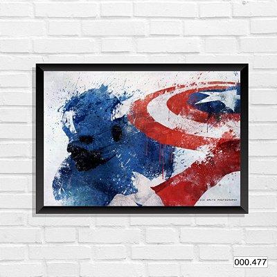 Quadro - Capitão America, Arte