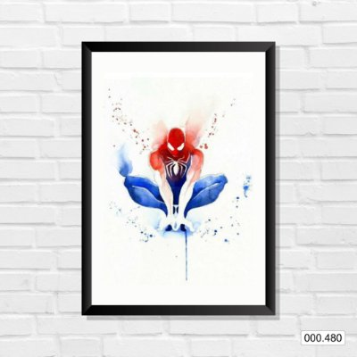 Quadro - Homem-Aranha, Arte