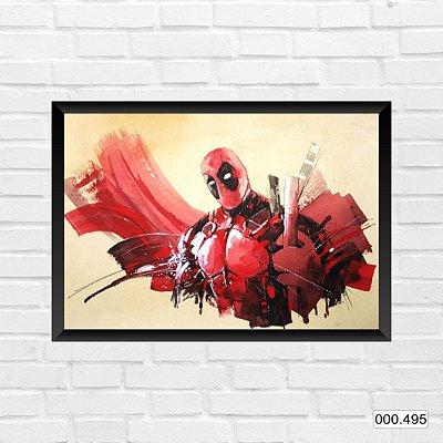 Quadro - Deadpool, pintura