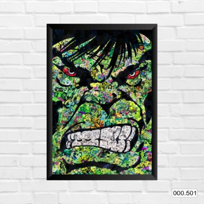 Quadro - Hulk, Arte