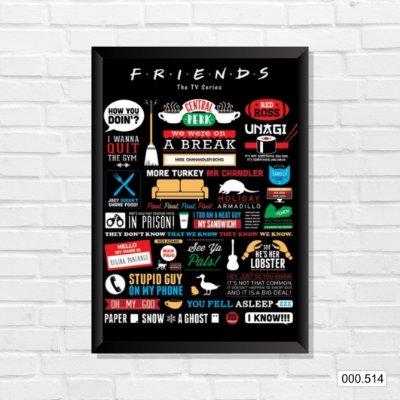 Quadro - Friends - The Tv Series