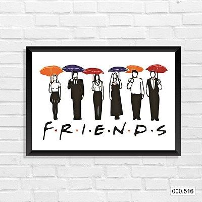Quadro - Friends - Guarda-chuva