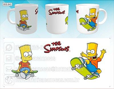 Caneca - Bart Simpson, Skate