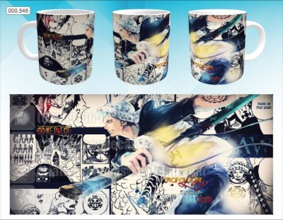 Caneca - One Piece - Trafalgar Law, Mangá