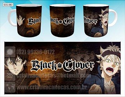 Caneca - Black Clover