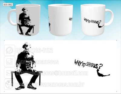 Caneca - Coringa, Why So Serious