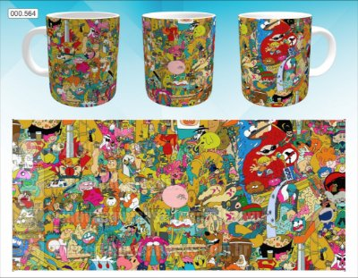 Caneca - Cartoon Network - Personagens