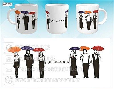 Caneca - Friends - Guarda-chuva