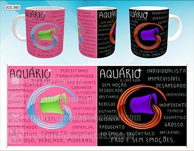 Caneca - Aquario, Signo