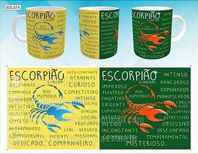 Caneca - Escorpião, Signo