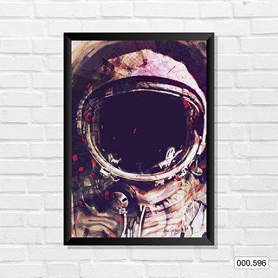 Quadro - Astronauta, Arte