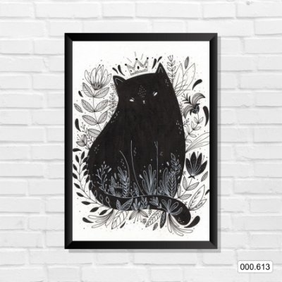 Quadro - Gato, Arte