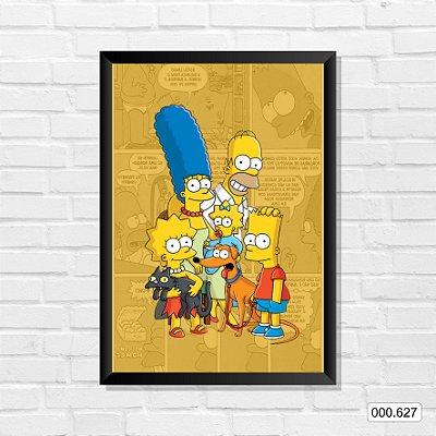 Quadro - Os Simpsons