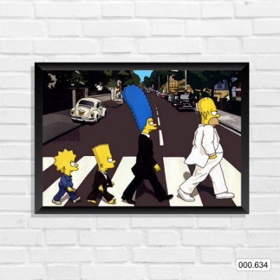 Quadro - Simpsons, Beatles