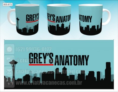 Caneca - Grey's Anatomy, City