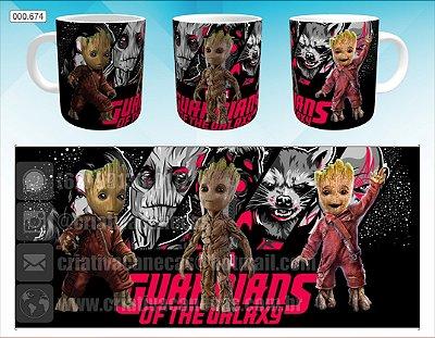 Caneca - Guardiões da Galáxia - Groot