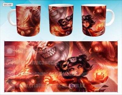 Caneca - League of Legends - Annie